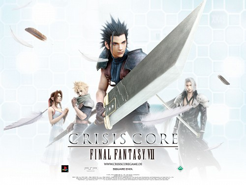 Square Enix, Final Fantasy VII: Crisis Core, Zack Fair, Sephiroth, Cloud Strife