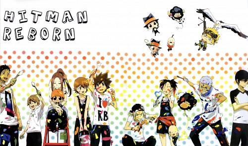 Akira Amano, Artland, Katekyo Hitman Reborn!, Yi Pin, Reborn (Character)