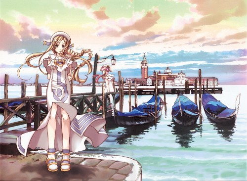 Kozue Amano, Hal Film Maker, Aria, Stella – Kozue Amano Illustration Works 2, Alicia Florence