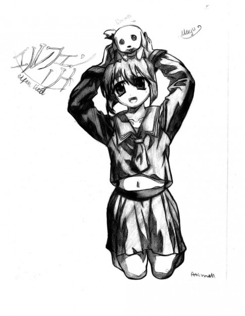 Lynn Okamoto, Studio ARMS, Elfen Lied, Mayu, Member Art