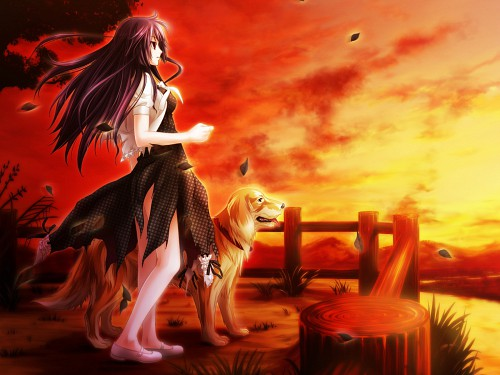 Hinaki Shiizaki, Cyc-Soft, Cthulhu ~Great Hunting~, Shizuku Tsuyuki, Game CG