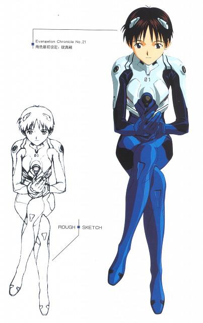 Youichi Fukano, Gainax, Neon Genesis Evangelion, Shinji Ikari
