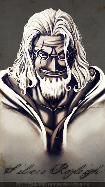 Eiichiro Oda, Toei Animation, One Piece, Silvers Rayleigh, Member Art