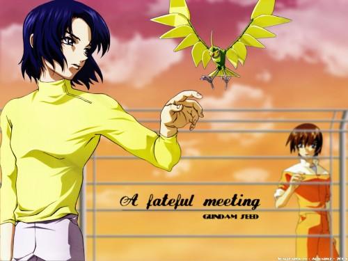 Sunrise (Studio), Mobile Suit Gundam SEED, Kira Yamato, Torii (Gundam SEED), Athrun Zala Wallpaper