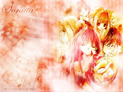Aoi Nanase, Seraphim Call, Hatsumi Kusunoki, Yukina Kurimoto, Tanpopo Teramoto Wallpaper