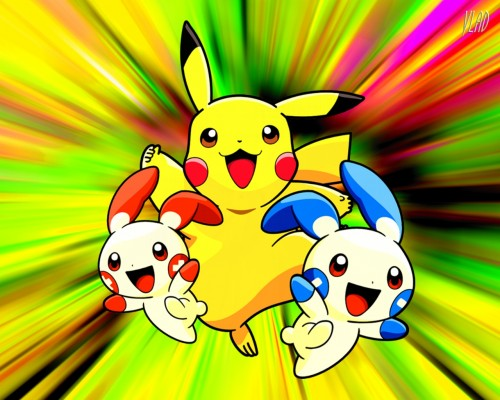 Nintendo, Pokémon, Pikachu Wallpaper