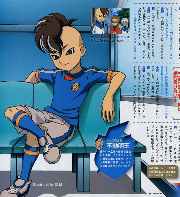 Tenya Yabuno, OLM Digital Inc, Inazuma Eleven, Akio Fudou