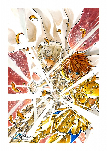 Shiori Teshirogi, TMS Entertainment, Saint Seiya: The Lost Canvas, Leo Illias, Leo Regulus