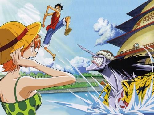 Eiichiro Oda, Toei Animation, One Piece, Arlong, Monkey D. Luffy