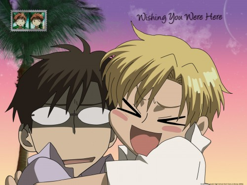Hatori Bisco, BONES, Ouran High School Host Club, Tamaki Suoh, Kyoya Ootori Wallpaper