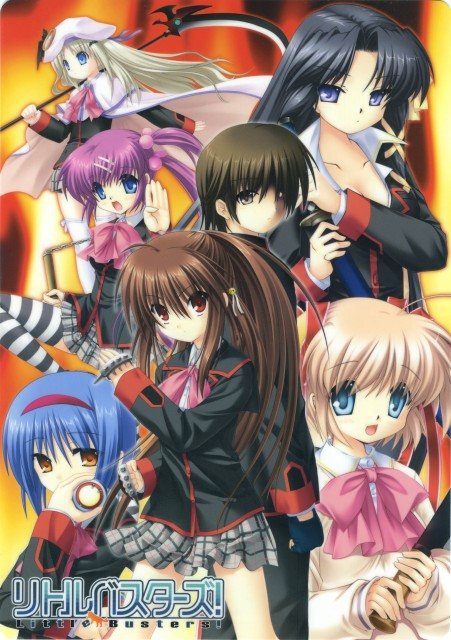 Little Busters, Mio Nishizono, Noumi Kudryavka, Rin Natsume, Haruka Saigusa