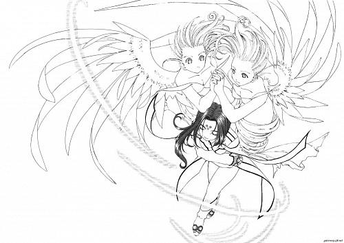 Kousuke Fujishima, Anime International Company, Ah! Megami-sama, Cool Mint, Lind