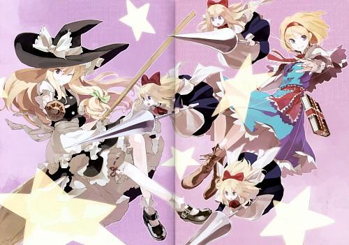 Shihou (Mangaka), Touhou Yuu Gajou Ni, Touhou, Alice Margatroid, Marisa Kirisame