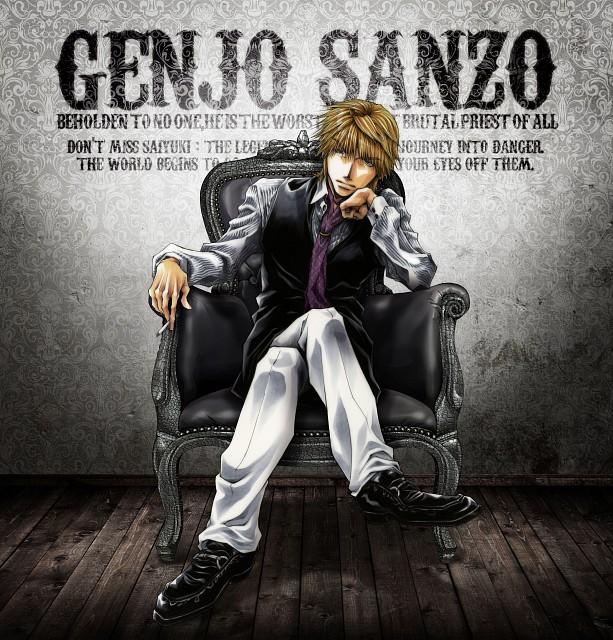Kazuya Minekura, Studio Pierrot, Saiyuki, Genjyo Sanzo, Album Cover