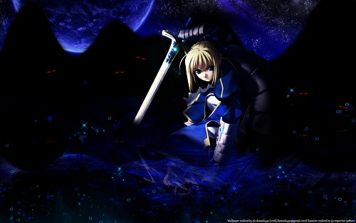 Fate/stay night, Saber Wallpaper