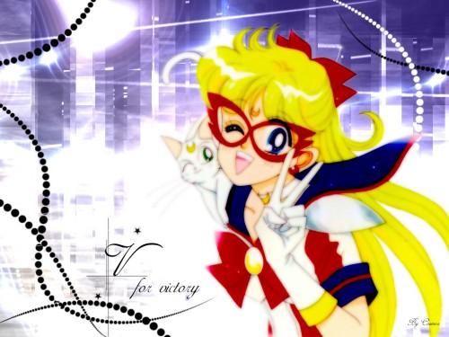 Naoko Takeuchi, Codename: Sailor V, Artemis, Sailor V Wallpaper