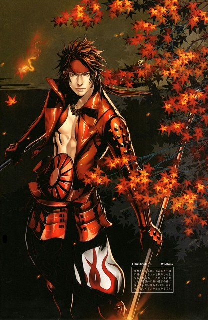 Wolfina (Mangaka), Production I.G, Capcom, Sengoku Basara Dengeki Visual & Sound Book, Sengoku Basara