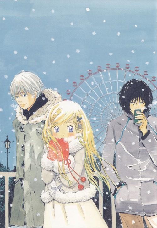 Chika Umino, Honey and Clover, Takumi Mayama, Shinobu Morita, Hagumi Hanamoto
