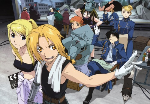 Hiromu Arakawa, BONES, Fullmetal Alchemist, Envy, Riza Hawkeye