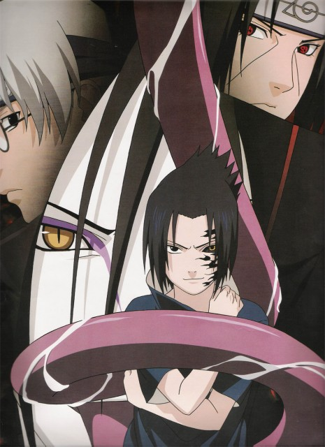 Studio Pierrot, Naruto, Kabuto Yakushi, Sasuke Cursed Seal, Itachi Uchiha