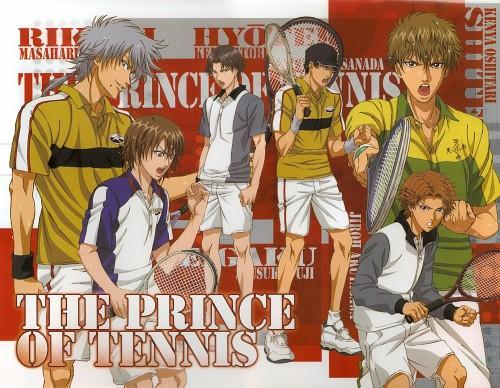 Takeshi Konomi, J.C. Staff, Prince of Tennis, Jirou Akutagawa, Masaharu Niou