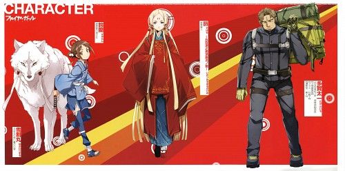 BUNBUN, TYPE-MOON, Fire Girl