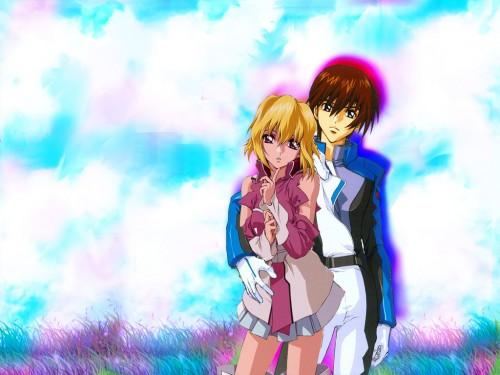 Sunrise (Studio), Mobile Suit Gundam SEED Destiny, Mobile Suit Gundam SEED, Stellar Loussier, Kira Yamato Wallpaper