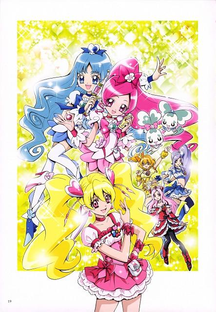 Futago Kamikita, Fresh Precure!, HeartCatch Precure!, Futago Kamikita All Precure Illustration Collection, Coffret