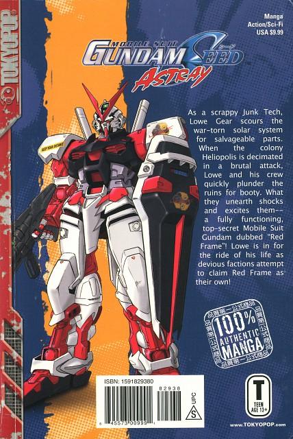 Kouichi Tokita, Mobile Suit Gundam SEED Astray, Manga Cover