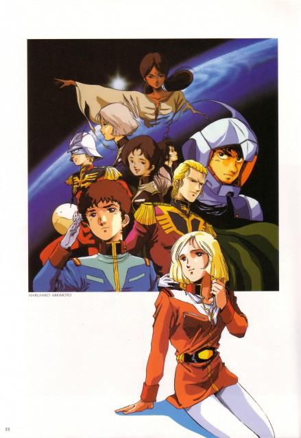 Sunrise (Studio), Mobile Suit Gundam - Universal Century, Lalah Sune, Sayla Mass, Mirai Yashima