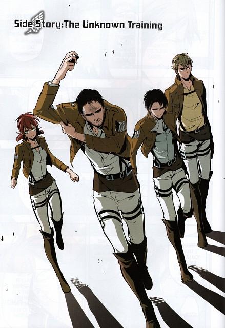 Hikaru Suruga, Production I.G, Shingeki no Kyojin, Levi Ackerman, Farlan Church