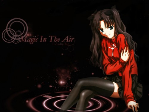 TYPE-MOON, Fate/stay night, Rin Tohsaka Wallpaper