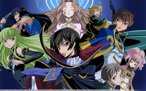 Lelouch of the Rebellion, Gino Weinberg, C.C., Nunnally Lamperouge, Anya Alstreim Wallpaper