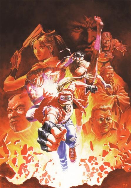 Yoshiyuki Sadamoto, SNK, King of Fighters, Fatal Fury, Wolfgang Krauser