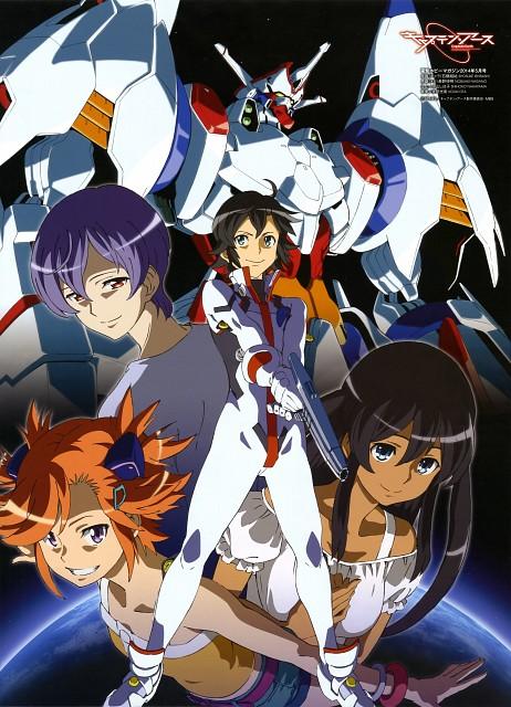 Shousuke Ishibashi, BONES, Captain Earth, Daichi Manatsu, Hana Yumetou