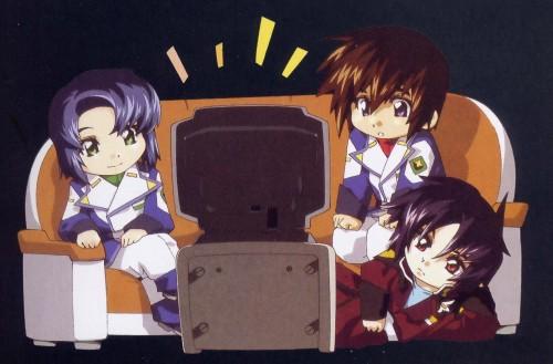 RGB, Mobile Suit Gundam SEED Destiny, Athrun Zala, Kira Yamato, Shinn Asuka