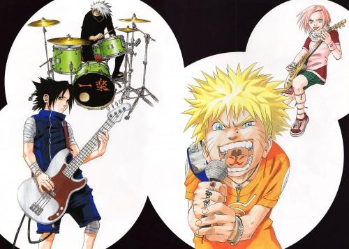 Masashi Kishimoto, Naruto, Uzumaki (Artbook), Sasuke Uchiha, Kakashi Hatake
