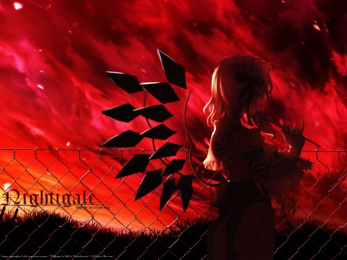 Touhou, Flandre Scarlet Wallpaper