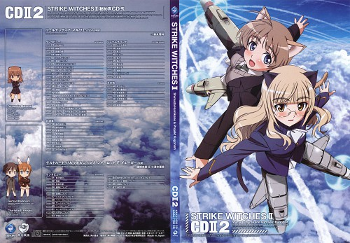 Anime International Company, Gonzo, Strike Witches, Perrine-H. Clostermann, Lynette Bishop