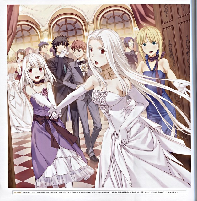 Daisuke Moriyama, TYPE-MOON, Fate/Zero, TYPE-MOON Fes.10th Anniversary Event Official Pamphlet, Fate/stay night