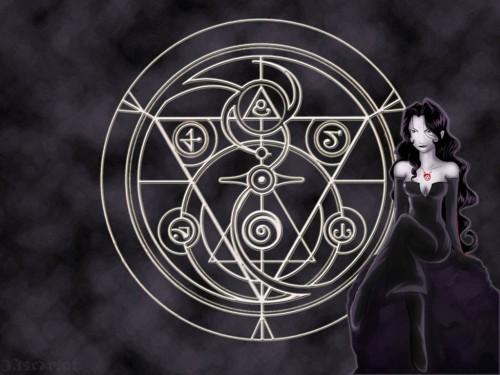 Hiromu Arakawa, BONES, Fullmetal Alchemist, Lust Wallpaper
