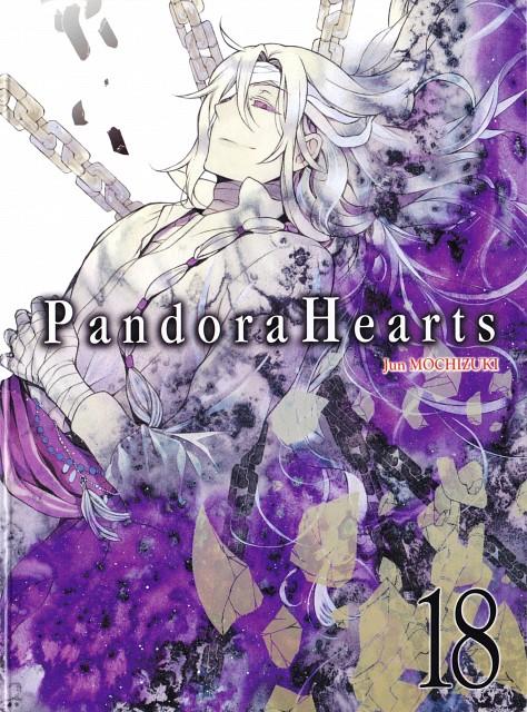Jun Mochizuki, Xebec, Pandora Hearts, Levi Baskerville, Manga Cover