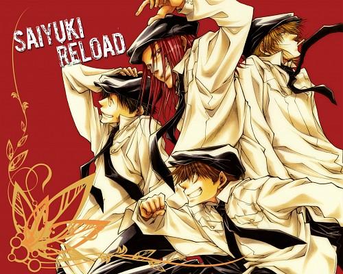 Kazuya Minekura, Studio Pierrot, Saiyuki, Genjyo Sanzo, Cho Hakkai