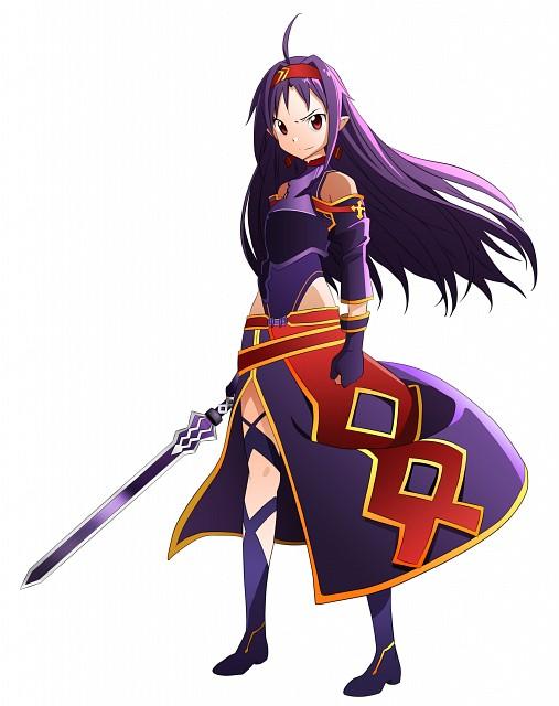 Abec, A-1 Pictures, Sword Art Online, Yuuki Konno, Vector Art