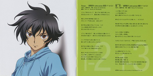 Sunrise (Studio), Mobile Suit Gundam 00, Setsuna F. Seiei, Album Cover