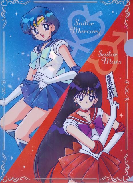 Toei Animation, Bishoujo Senshi Sailor Moon, Sailor Mars, Sailor Mercury