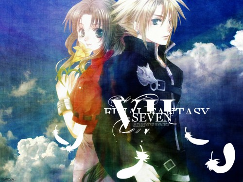 You Kousaka, Final Fantasy VII: Advent Children, Final Fantasy VII, Cloud Strife, Aerith Gainsborough Wallpaper