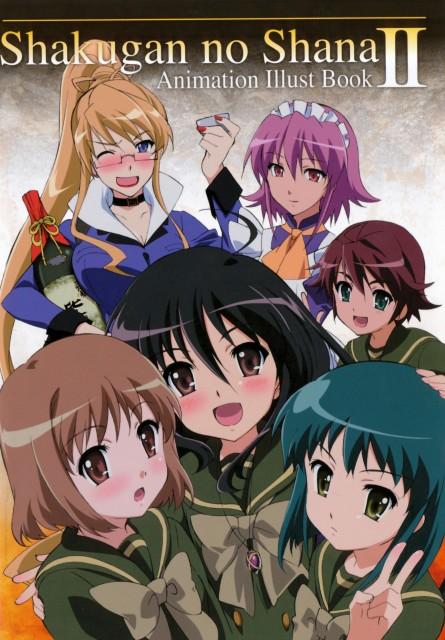 Shakugan no Shana, Fumina Konoe, Shana, Kazumi Yoshida, Wilhelmina Carmel