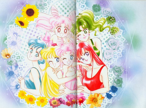 Naoko Takeuchi, Bishoujo Senshi Sailor Moon, BSSM Original Picture Collection Vol. II, Ami Mizuno, Usagi Tsukino