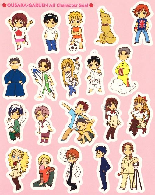 Hisaya Nakajo, Hanazakari no Kimitachi e, Shinji Noe, Senri Nakao, Shuichi Nakatsu